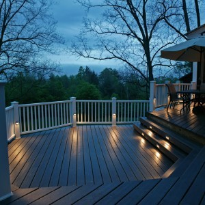 outdoor deck patio lighting lights raleigh cary. Black Bedroom Furniture Sets. Home Design Ideas