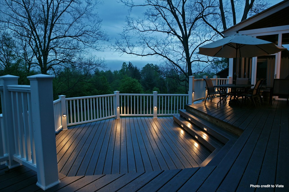 Landscape Lighting Raleigh : Outdoor deck patio lighting lights raleigh cary