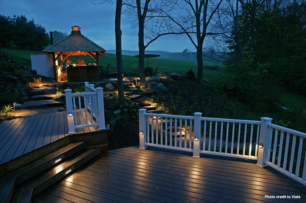 Landscape Lighting Raleigh : Outdoor arbor lights pergola lighting raleigh