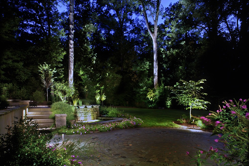 Landscape Lighting Raleigh : Outdoor path sidewalk lighting lights raleigh cary