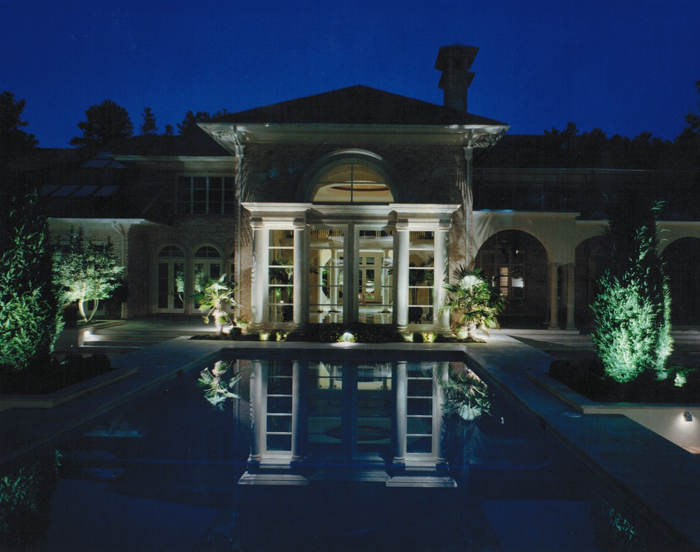 Landscape Lighting Raleigh : Architectural lighting outdoor flood lights nitelites in