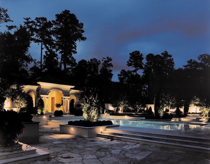 Pool deck lighting lights raleigh durham cary chapel hill nc view image mozeypictures Image collections